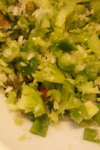 green tomato relish, picalilly our way